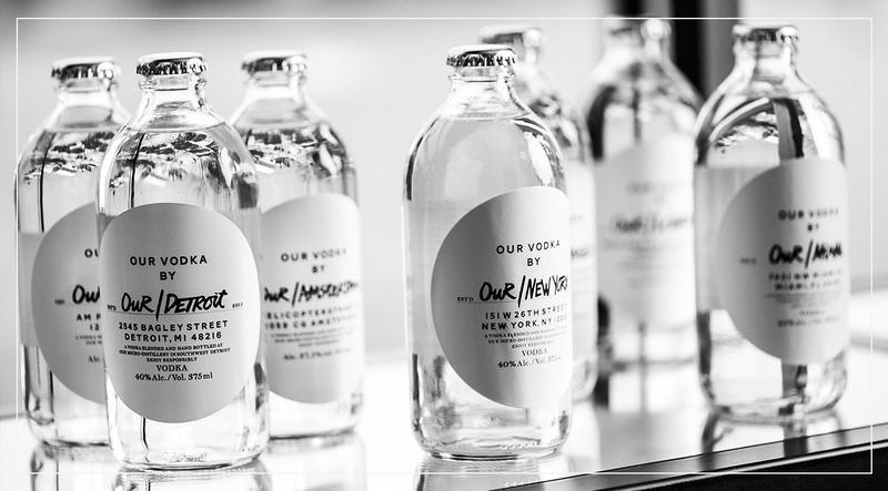 První světová a místní vodka